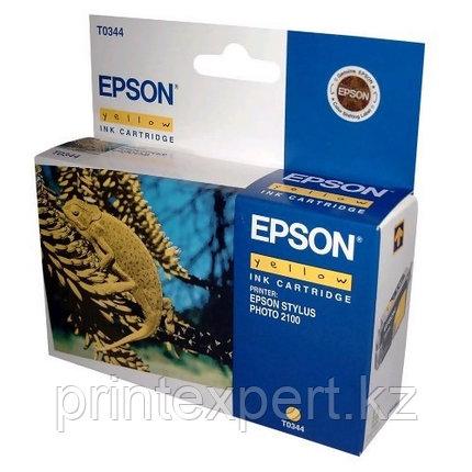 Картридж Epson C13T03444010 SP2100 желтый, фото 2