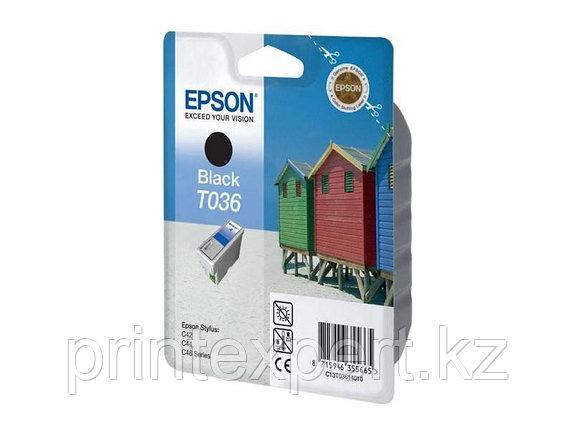 Картридж Epson C13T03614010 STYLUS C42 черный, фото 2