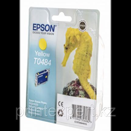 Картридж Epson C13T04844010 R200/R300/RX500/RX600 желтый, фото 2