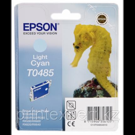 Картридж Epson C13T04854010 R200/R300/RX500/RX600 светло-голубой, фото 2