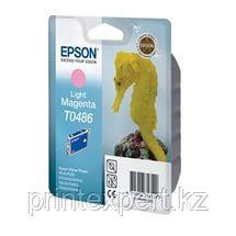 Картридж Epson C13T04864010 R200/R300/RX500/RX600 светло-пурпурный