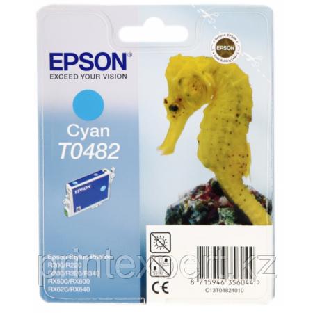 Картридж Epson C13T04824010 R200/R300/RX500/RX600 голубой