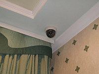 Установка купольных камер