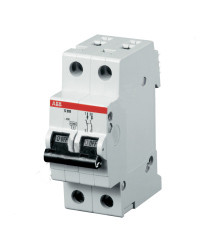 2CDS212001R0064 Автоматический выключатель ABB, SH202L  2P 6А (С) 4.5 kA