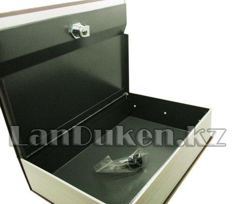 """Книга сейф шкатулка с ключом """"ROUTE 66"""" 240* 155* 55 см (средняя) - фото 4"""