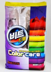 """Стиральный порошок """"BEAT Drum Color Care"""" для цветного белья,2250гр"""