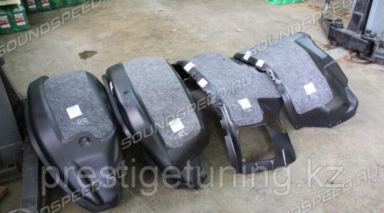 Комплект защит колесных арок с шумкой LX 570/450D (15-)