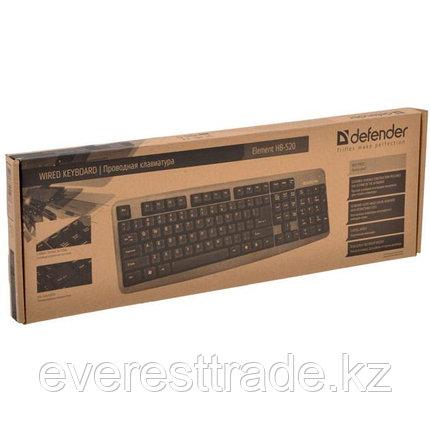 Клавиатура Defender Element HB-520 RU PS/2, фото 2