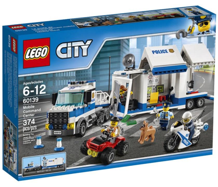 Купить 60139 Lego City Мобильный командный центр, Лего ...