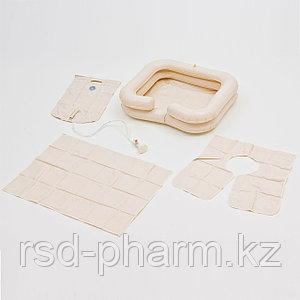 Комплект для мытья головы: ванна надувная, емкость для воды, защитный фартук