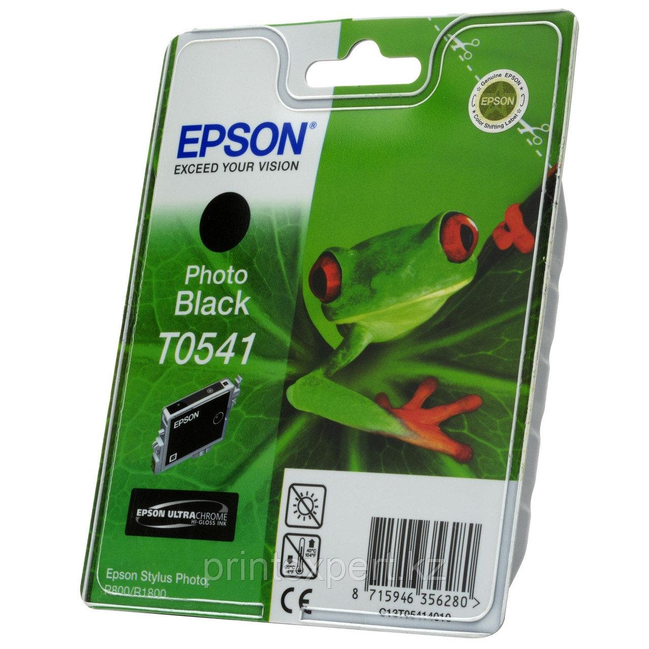Картридж Epson C13T05414010 STYLUS PHOTO R800 фото-черный