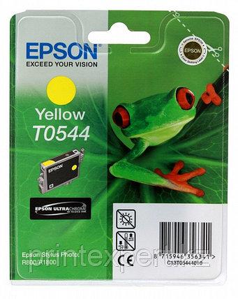 Картридж Epson C13T05444010 STYLUS PHOTO R800 желтый, фото 2