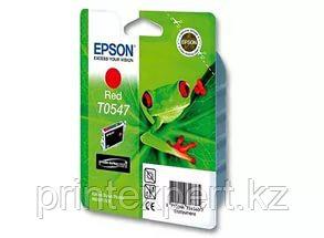 Картридж Epson C13T05474010 STYLUS PHOTO R800 красный