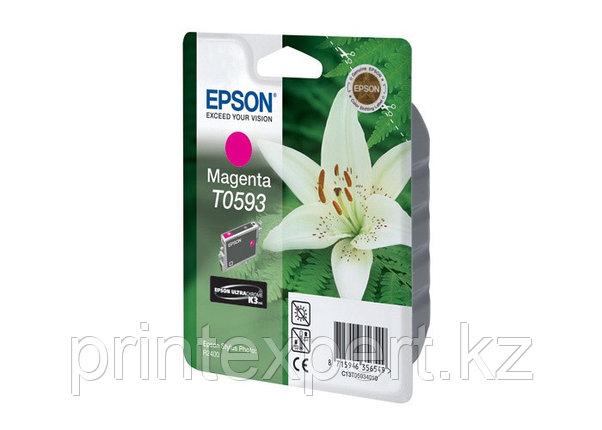 Картридж Epson C13T05934010 R2400 пурпурный, фото 2