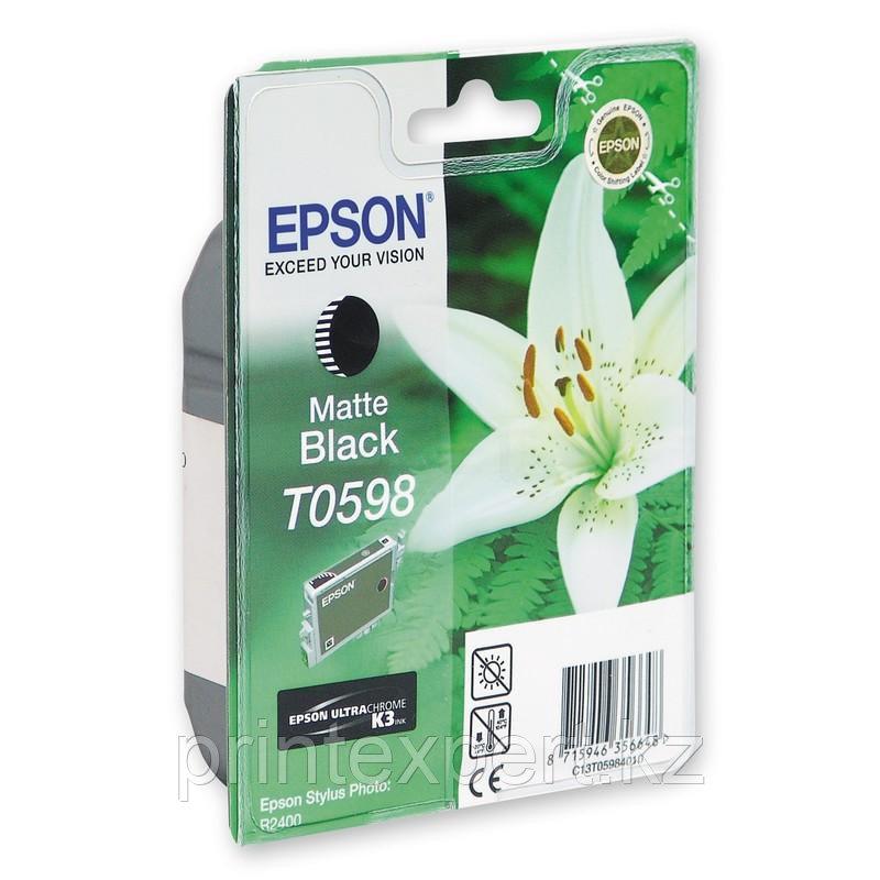 Картридж Epson C13T05984010 R2400 матовый черный