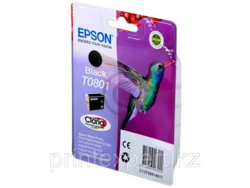 Картридж Epson C13T08014011 P50/PX660 черный