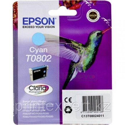 Картридж Epson C13T08024011 P50/PX660 голубой, фото 2