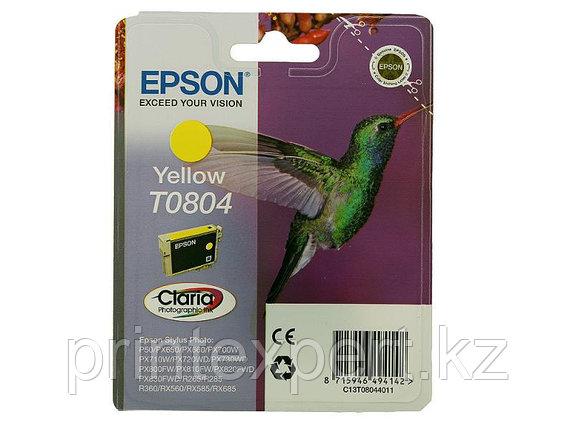 Картридж Epson C13T08044011 P50/PX660 желтый, фото 2