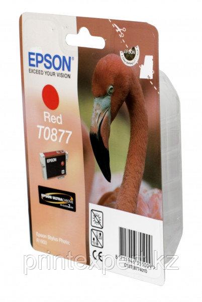 Картридж Epson C13T08774010 R1900 красный