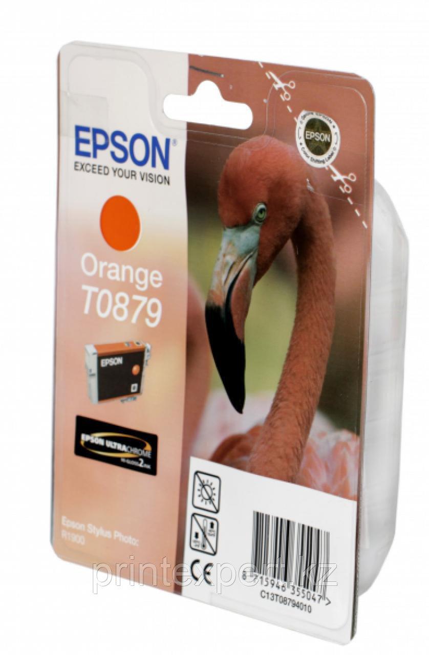 Картридж Epson C13T08794010 R1900 оранжевый