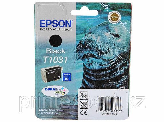 Картридж Epson C13T10314A10 STYLUS T40W/TX600FW черный, фото 2
