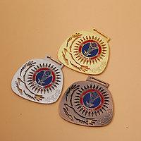 Спортивная медаль с логотипом Нур-Султана