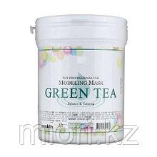 Альгинатная антиоксидантная успокаивающая маска с зеленым чаем ANSKIN Modeling Mask Green Tea,700гр