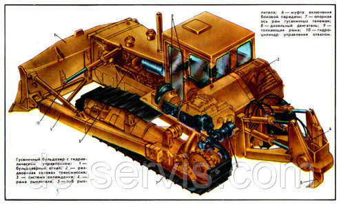 Радиатор масляный (новый) 130У.09.012