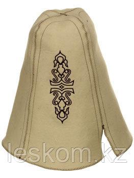 Шапка для бани Казахская