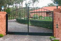 Сварные металлические ворота в Астане