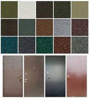 Порошковая покраска дверей - антик - шагрень, фото 1