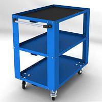 Полимерная порошковая покраска металлического шкафа, фото 1