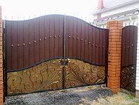 Ворота металлические 17