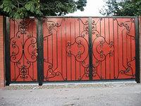 Ворота металлические 18