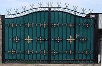 Ворота металлические 22