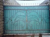 Ворота металлические 24