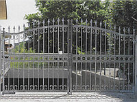 Ворота металлические 23