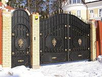 Ворота металлические 26