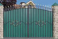Ворота металлические 27