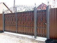 Ворота металлические 28