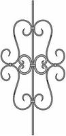 Кованые элементы. Узоры в Астане.4