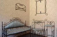 Кованые мебели