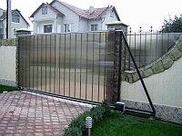 Откатные (сдвижные) ворота, фото 1