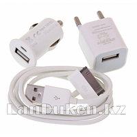 Зарядное устройство - Mini USB Charger(For 3G/3GS/4S/4S)