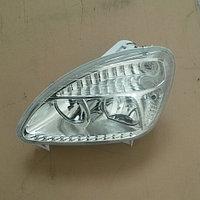 Фара на Газель, новый образец с ДХО пластик 33020-3711011-25