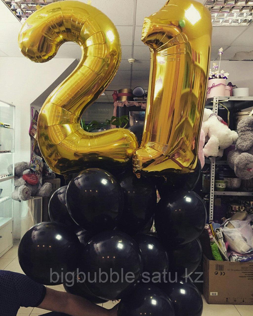 Фольгированные шары - фото 4