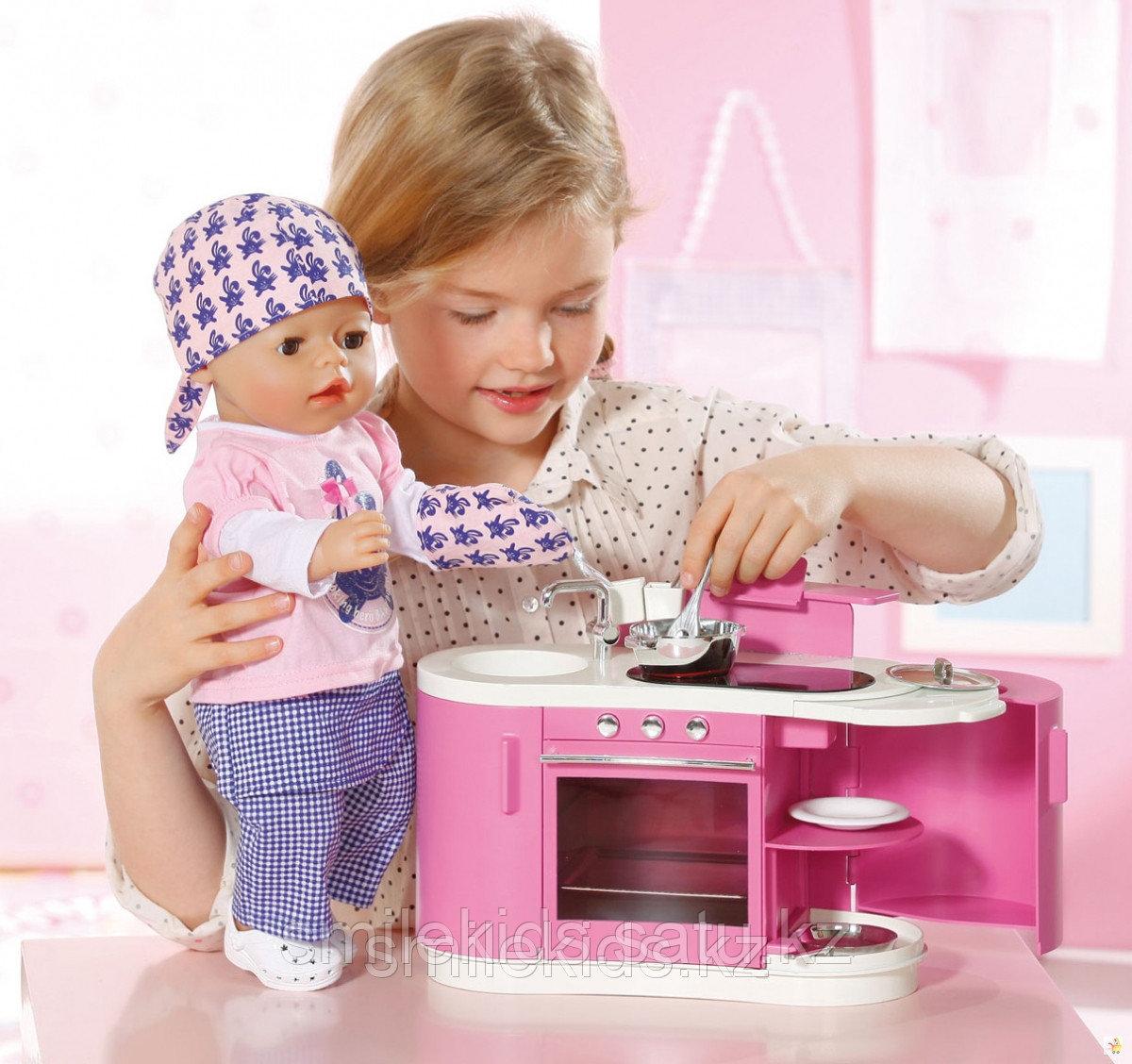 Кухня интерактивная для куклы Baby Born