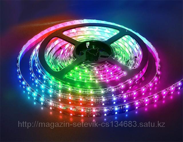 Светодиодная лента (LED) 5050-1m-60 led RGB (цветная)