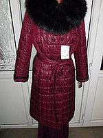 Российское стеганое зимнее пальто из итальянской стеганой плащевки