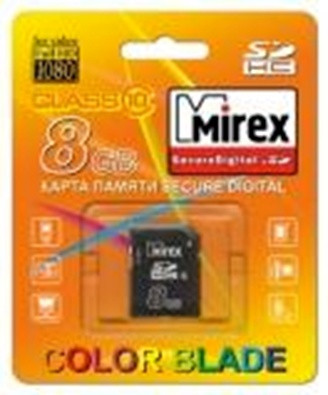Secure Digital Mirex  8Gb (class 10)